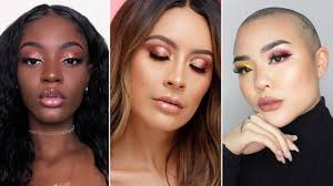 13 rose gold makeup ideas for your eyes lips and face