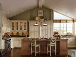 kitchens with white cabinets and green walls. Interesting Cabinets Green Walls White Cabinetswood Color Island Intended Kitchens With White Cabinets And Green Walls