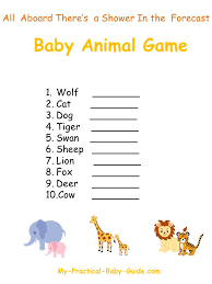 Noah's Ark Baby Shower - My Practical Baby Shower Guide