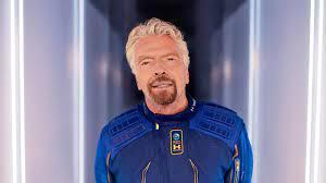launching Richard Branson to space ...