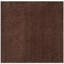 laa brown 7 ft x 7 ft square area rug