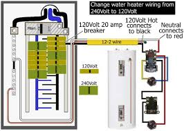 to wire water heater for volts how to wire water heater for 120 volts
