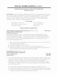 Social Worker Resume Objective Awesome Social Worker Resume
