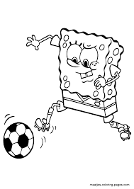 Small Picture Soccer Coloring Pages Printable Coloring Home