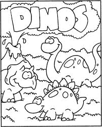 Kleurplaat Dino Coloring Pages Dinosaur Activities Dinosaur