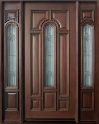 Dark mahogany furniture Red Oak Wood Front Door Custom Single With Sidelites Solid Wood With Dark Mahogany Color Door Door Mahogany Design Ruby Lane Front Door Custom Single With Sidelites Solid Wood With Dark