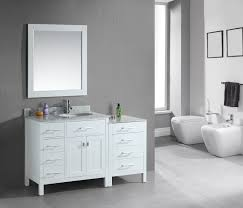 modular bathroom furniture bathrooms. 56 Inch Modular Bathroom Vanity White Finish Set Furniture Bathrooms