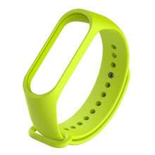 <b>Silicone Bracelet Band Wristband</b> Wrist Strap for Xiaomi Mi Band 4 ...