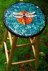 diy mosaic table outdoor mosaic table elegant dragonfly mosaic stool by mosaic of outdoor mosaic table diy mosaic table