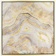 golden sands of time ii 43 square framed wall art on white and gold framed wall art with golden sands of time ii 43 square framed wall art 8y380 lamps plus