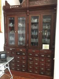 Pharmacy Museum Apothecary Cabinet - Picture of New Orleans ...