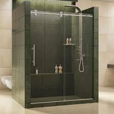 contemporary sliding shower doors