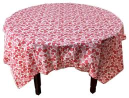 5 piece printing plastic table covers disposable party tablecloths heart contemporary tablecloths by blancho bedding