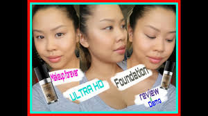 makeup forever ultra hd foundation review and demo you
