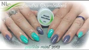 Pastelo Mint Barevné Gely Basic Nl Nails Profesional