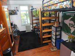 dorm college lofted beds