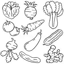 drawing coloring book cartoon farm s vegetables fruits and doodle of vegetable set object usborne doodling