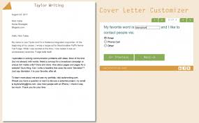 also steps on how to write a cover letter