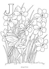 Small Picture free coloring book with coloring pages of faeries elves angels
