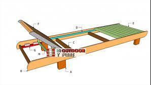 lounge chair plans myoutdoorplans