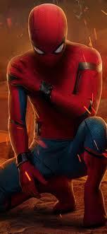1242x2688 Peter Parker Spider-Man ...
