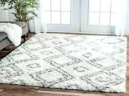gray fluffy rug inspired by carpets this trellis rug adds from gray fluffy rug grey