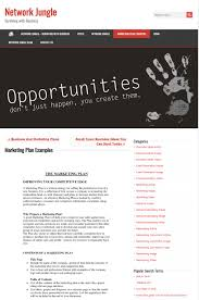Advertising Plan Pdf How To Write A Marketing Plan In 2019 Templates Examples