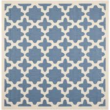 safavieh courtyard indoor outdoor 7 square area rug blue rugs carpets best canada