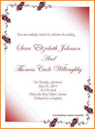 Wedding Card Template Word Zromtk Cool Free Invitation Card Templates For Word