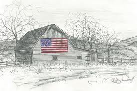 drawn barn pencil sketching 10