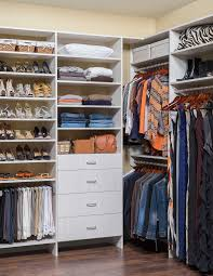 Open Closets Small Spaces Bedroom Amazing Walk In Closet Ideas For Small Space Wooden