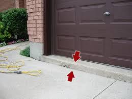 how to level a garage doorLiftec Mudjacking  Slabjacking of Sunken Concrete Driveways
