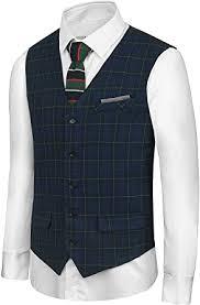 Hanayome <b>Men's British Style</b> Leisure Business Suit Dress Vest ...