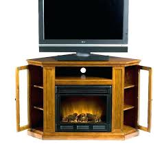 oak tv stands with fireplace oak fireplace stand corner
