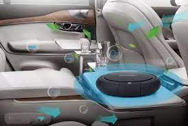 Máy Lọc Không Khí Ô Tô Hyundai Khử Mùi Trên Ô Tô Xe Hơi Cao Cấp Chống Say  Xe