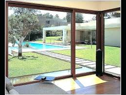 8 ft sliding patio door in creative home interior design with wide foot