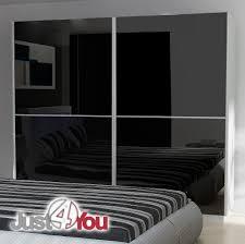 bedroom furniture black gloss. Sypialnia_Mediolan_2K_white-black.jpg · łóżko_Mediolan_1K_white.jpg Szafa_Mediolan_1K_black.jpg Bedroom Furniture Black Gloss