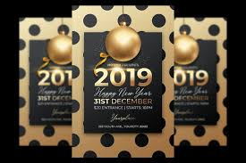 New Year Flyers Template New Year Flyer Template