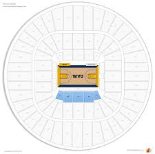 Wvu Coliseum Seating Chart Wvu Coliseum West Virginia Seating Guide Rateyourseats Com