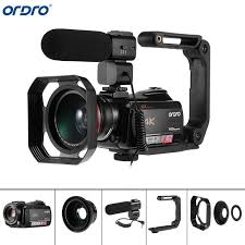 <b>Ordro AC5 4K UHD Digital</b> Video Cameras Camcorders Zoom 12X ...