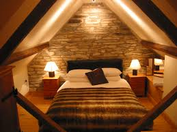 Bedroom  Attractive And Functional Attic Bedroom Design Ideas To - Attic bedroom