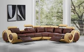 modern leather sofa. Back To: Repair A Hole In Modern Leather Sectional Sofa
