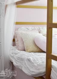 make shabby chic glam kids bedding