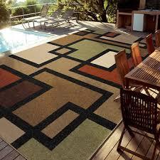 valuable easy living indoor outdoor rug 7 10 x12 brizo multi rugs x 12 costco or