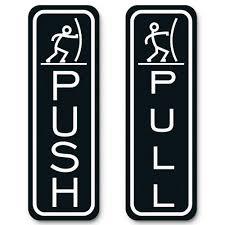 pull door sign. Contemporary Pull Classic Fun Push Pull Door Sign In M