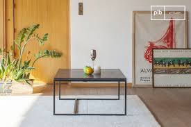 avedore black marble coffee table pib