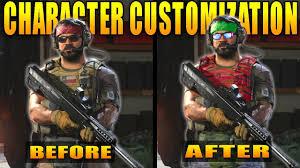 Modern Warfare: Character Customization Explained - YouTube