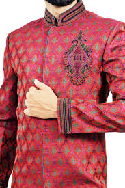 Image result for pink brocade sherwani