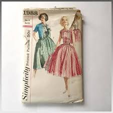 Fit And Flare Dress Pattern Gorgeous Vintage 48 Fit And Flare Dress With Cropped Jacket Sewing Pattern