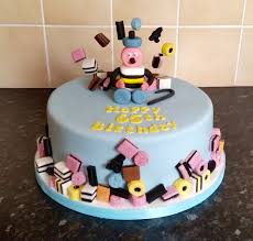Liquorice Allsorts Cake Designs Pin By Helen Berry On Dads 80th Cake Ideas In 2019 Cake